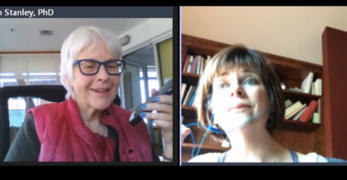 Sharon Stanley with Lynn Redenbach on the Wisdom of Embodiment Part 2, Feb 9,  2016